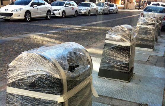 Los contenedores han estado fuera de servicio esta Navidad.