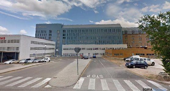 El hospital de Santa Bárbara, en Soria. / SN