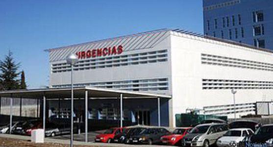 Servicio de Urgercias en el Santa Bárbara. / SN