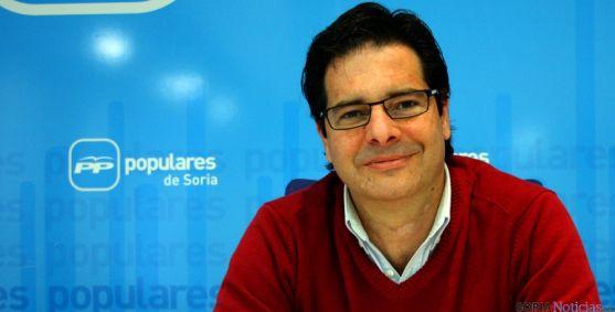 Javier Martín, de PP de Soria.