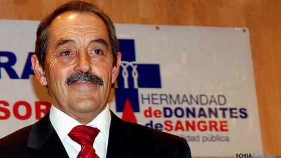José Luis Molina preside la Hermandad de Donantes de Sangre en Soria. / SN