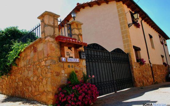 Una casa rural en la provincia de Soria. / SN