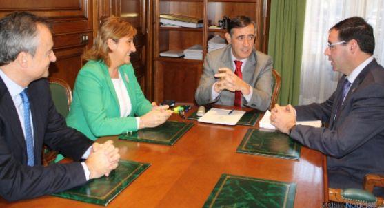Reunión presidentes Diputaciones en Soria