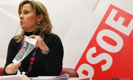 La procuradora socialista Esther Pérez. / SN