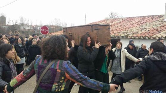 Traslado del arca en Almarza