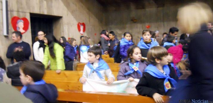 Algunos niños en la celebración. / SN