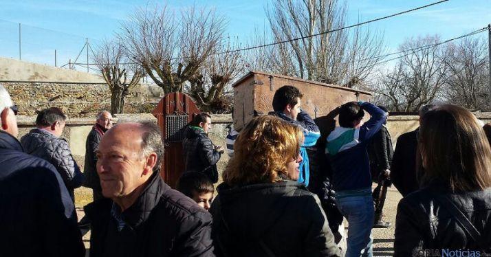 El arca, camino de Canto Gordo, antes de llegar a Almarza. / SN