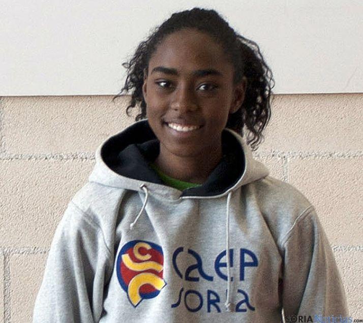 La atleta soriana Brenda Mateo.
