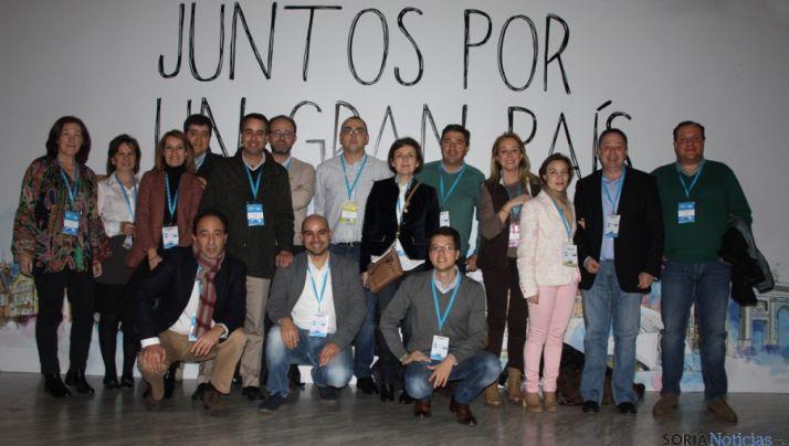 Miembros del PP en la convención nacional del partido este fin de semana.