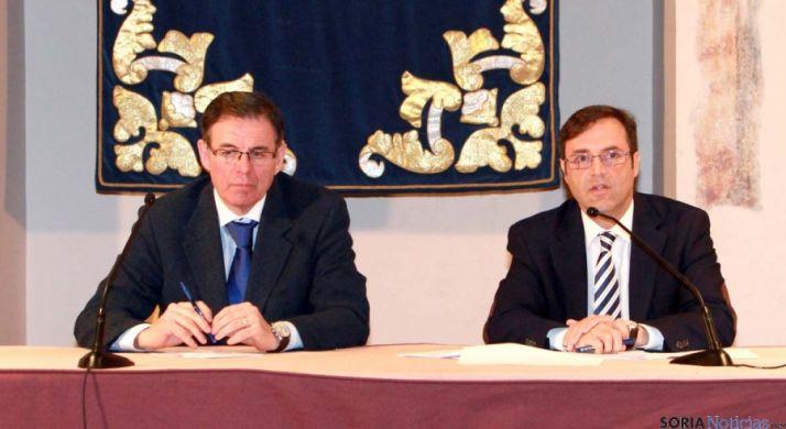 Julián Duque (izda.) y Javier Ramírez. / Jta.