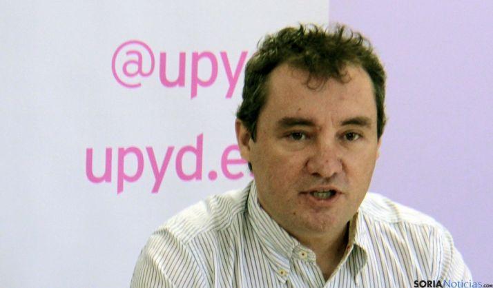 Ángel Antonio Ruiz, delegado de UPyD en Soria.