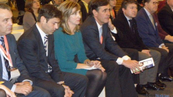 La Consejera de Turismo y Antonio Pardo
