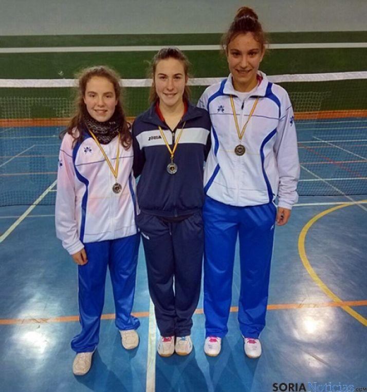 Beatriz Hernández, Claudia Oteo y Celia Guerrero.