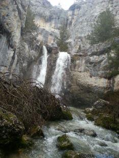 Cascada `de La Fuentona.