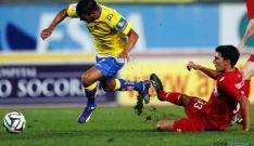 Calvo en un choque con Las Palmas / SN