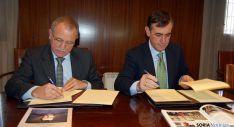 José Antonio de Miguel (izda.) y Antonio Pardo. / Dip.