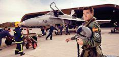 Un piloto del Ejército del Aire.