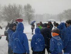 Jornada de atletismo en Valdeavellano para el Campeonato Escolar