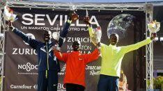 Ganadores Maratón Sevilla