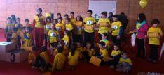 Foto 3 - Carrera solidaria en Almazán el Día Internacional del Cáncer Infantil