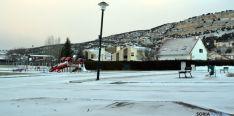 El hielo y la nieve, presente en muchos lugares de la provincia