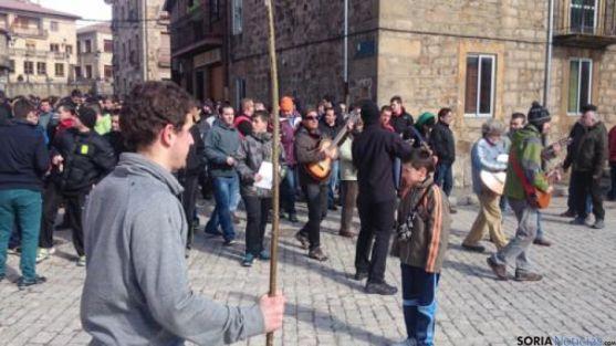 Ronda de Carnaval en Duruelo
