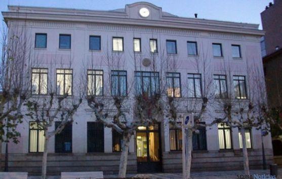 Edificio de Correos en Soria