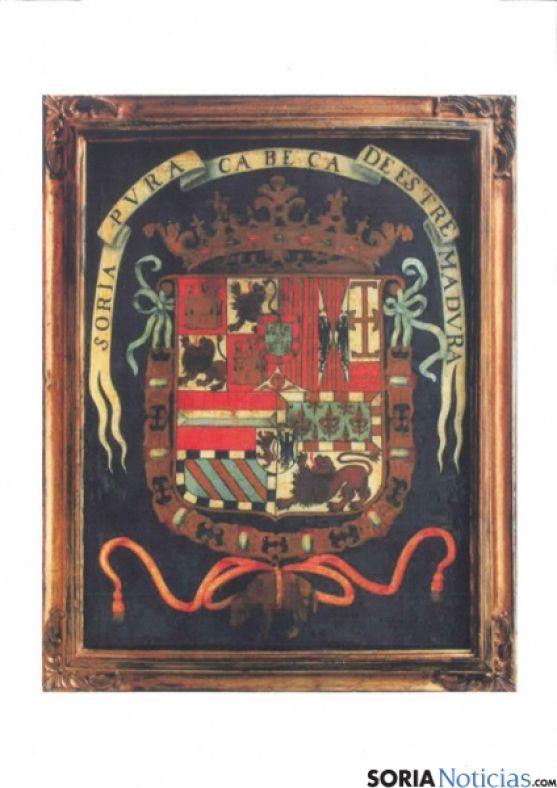 Escudo de Soria de la época de Felipe II
