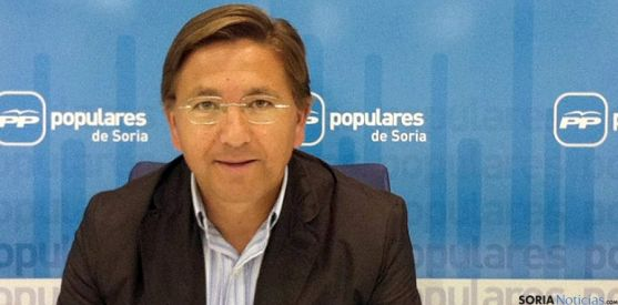 Gerardo Martínez, alcalde de Ólvega y vicesecretario del PP provincial.  / SN
