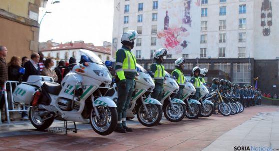 Agentes de la Benemérita en Soria. / SN
