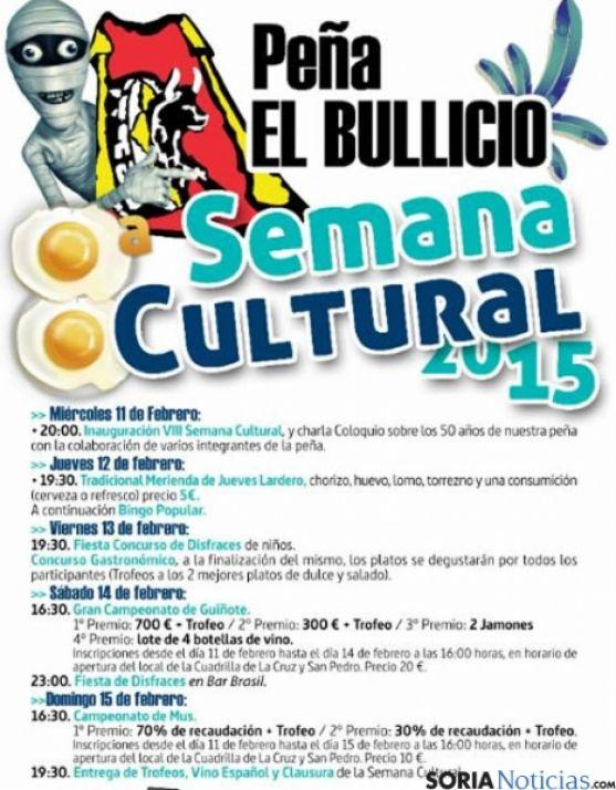 Semana Cultural de El Bullicio