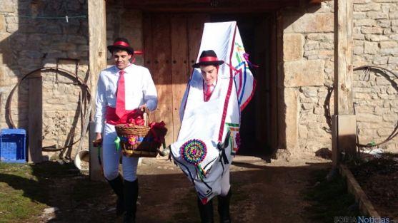 Los barroseros, este Martes de carnaval.