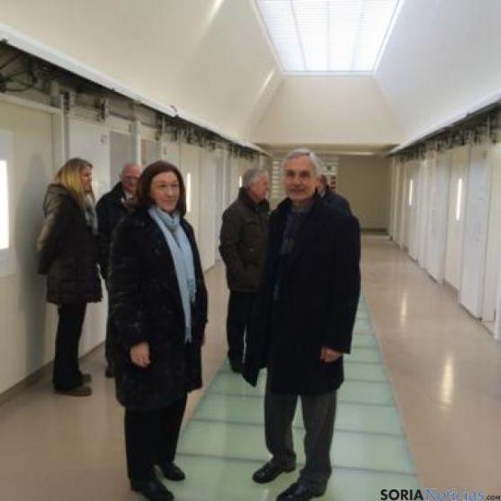 Visita al Centro Penitenciario de Soria