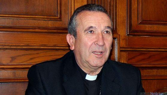 Monseñor Melgar Viciosa, obispo de Osma-Soria. / SN