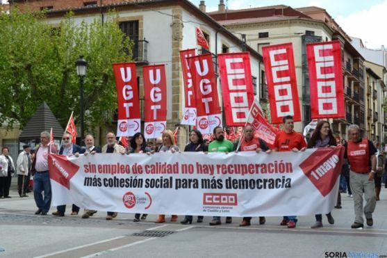 Manifestación 1 Mayo. / SN