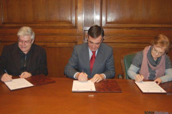 Convenios Diputación con Fadiso y Parkinson