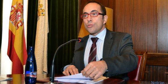 El teniente de alcalde de Soria, Luis Rey. / SN