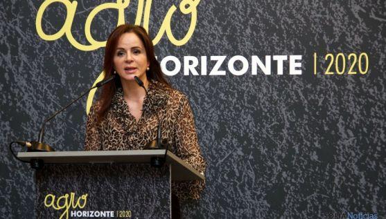 La consejera de Agricultura y Ganadería, Silvia Clemente, este martes. / Jta.