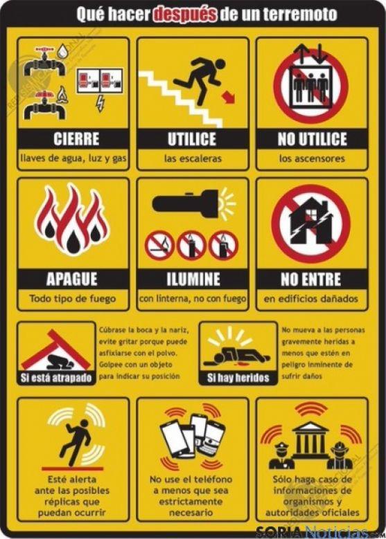 Consejos ante un terremoto / SN