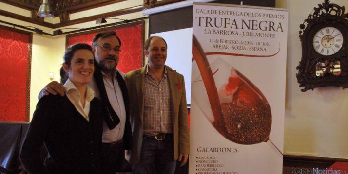 Sole Olalla, 'Ferrus' y Teresa (dcha. ). / SN