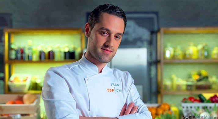 El top chef Fran Vicente.