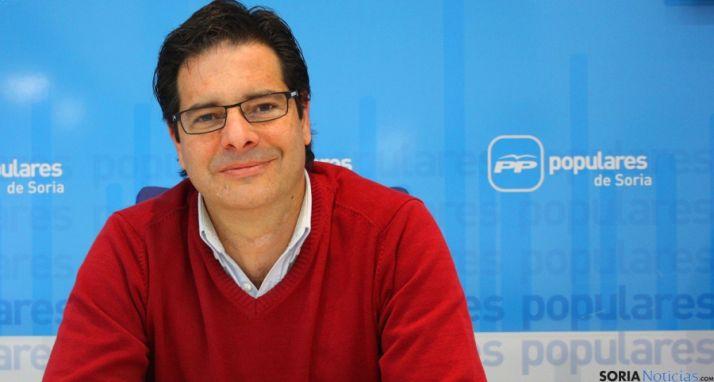 Javier Martín, procurador del PP soriano.