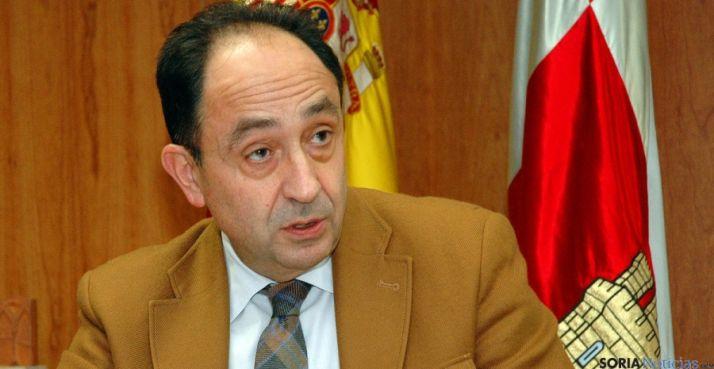 Manuel López, delegado territorial de la Junta en Soria.