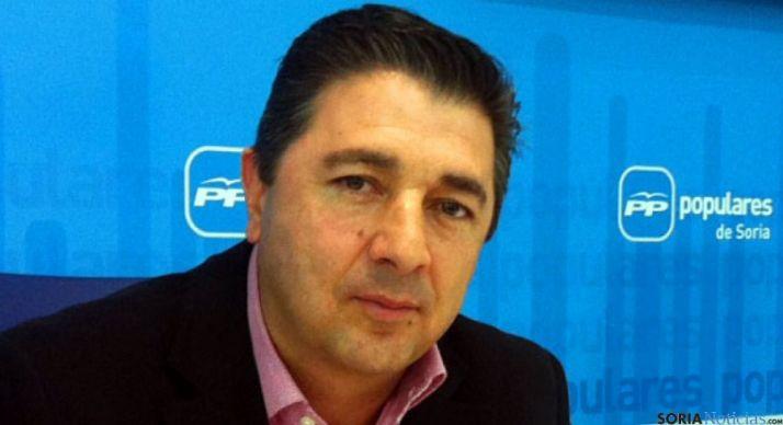 Jesús Peregrina, secretario del PP soriano. / SN