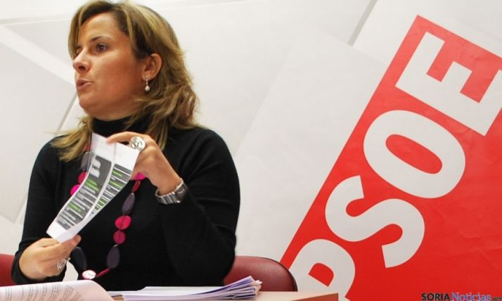 La procuradora socialista Esther Perez / SN