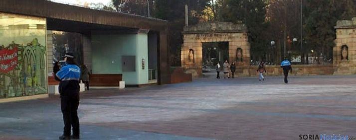 La plaza de Mariano Granados en la capital soriana. / SN