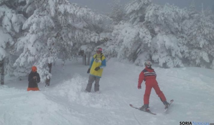 Punto de nieve de Santa Inés