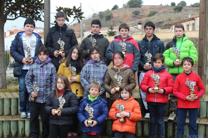 Foto 1 - 27 participantes en el II Torneo Infantil de Ajedrez de Los Rábanos