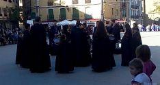 Imagen este sábado, de la plaza Mayor de Ágreda. / SN