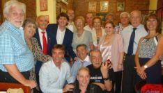 Directiva del Centro Numancia de Buenos Aires con el alcalde de Soria